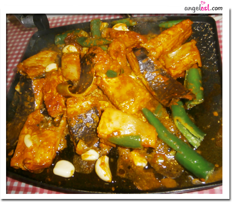 Pan Cooked Pari Fish Dry Curry Style