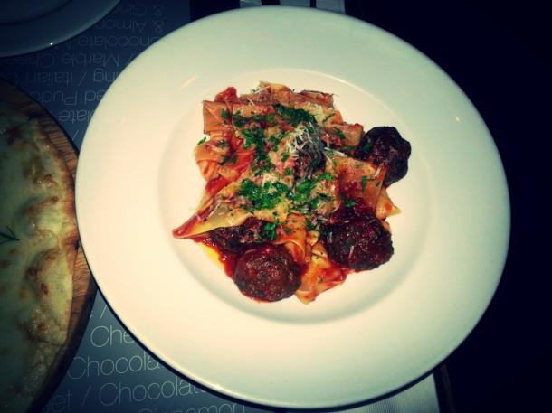 Meatball-Pasta