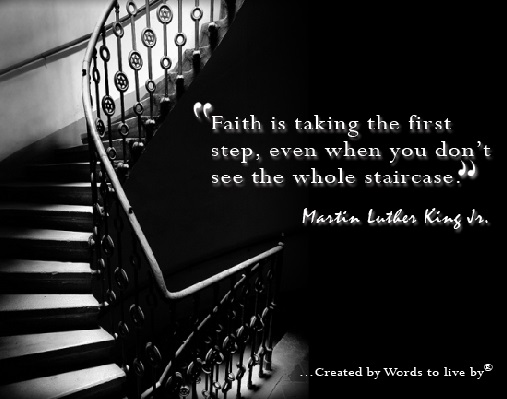 faith first steps